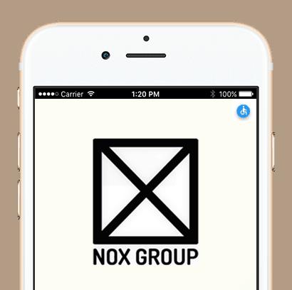 NOX - כרטיס ביקור דיגיטלי